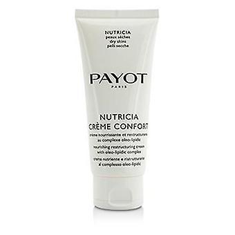 Payot Nutricia Creme Confort de alimentación y reestructuración Salon crema - piel seca - tamaño - 100ml / 3.3 oz