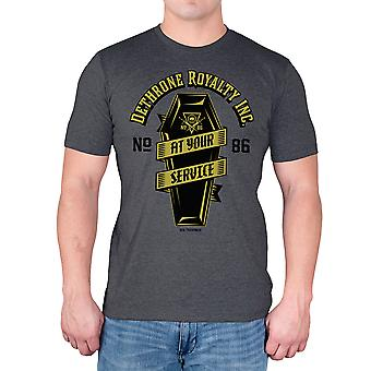 Dethrone At Your Service T-Shirt - Excalibur