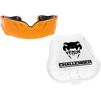Venum Challenger Mouthguard - Orange/Black