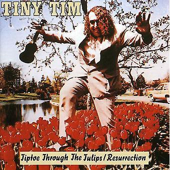 Tiny Tim - importação EUA ressurreição/ponta dos pés por meio de Tullips [CD]