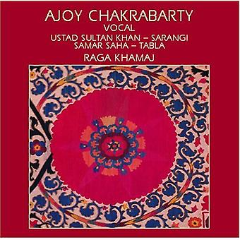 Chakrabarty/Khan - Ajoy Chakrabarty Ustad Sultan Khan & Samar Saha [CD] USA import