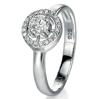 925 Silver Zirconium Fashionable Ring