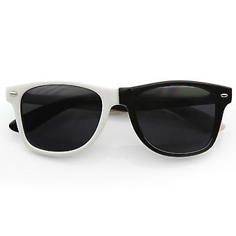 لون نصف ونصف القرن انعقدت النظارات الشمسية طرف روك LMFAO براعم كرة السلة التجارية