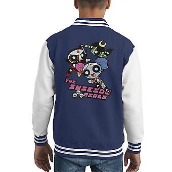The Power Puff Suicide Girls Kid's Varsity Jacket