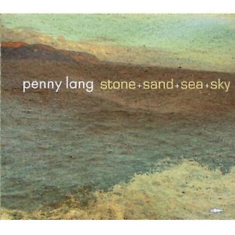 Penny Lang - Stone+Sand+Sea+Sky [CD] USA import