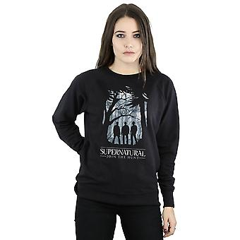 Supernatural Women's Group Outline Sweatshirt