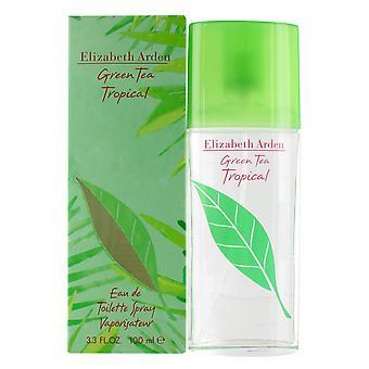 Elizabeth Arden Green Tea Tropical 100ml Eau de Toilette Spray for Women