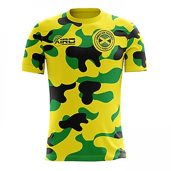 2020-2021 Jamaica Home Concept Football Shirt (Kids)