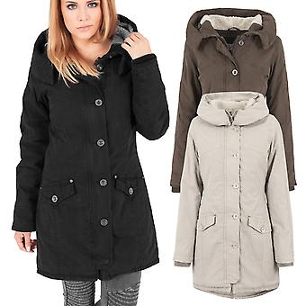 Urban classics ladies - cooking MET LONG PARKA winter jacket