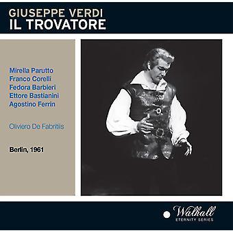 Verdi / Bastianini / Roman Opera Theatre Orchestra - Il Trovatore [CD] USA import