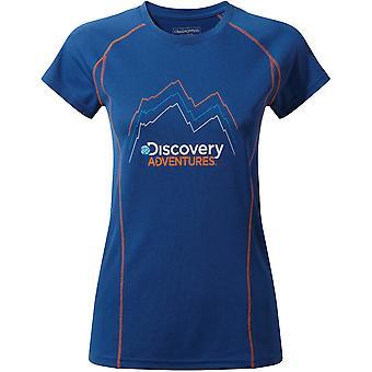 Craghoppers Womens/damer Discovery äventyr kortärmad T Shirt