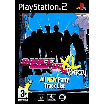 Dans UK XL Party Game (PS2) - Ny fabrik förseglad