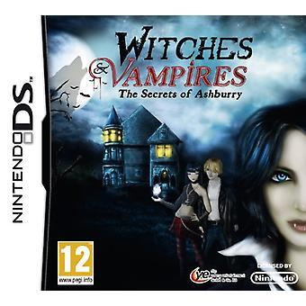 Witches Vampires Secrets of Ashburry (Nintendo DS) - Novo