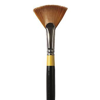 Daler Rowney System 3 Acrylic Artist Paint Brush Fan 8