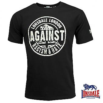 Lonsdale Herren T-Shirt Against Racism