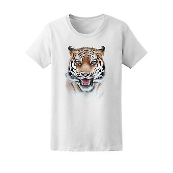 Amazing Bengal Tiger Tee Women's -Image by Shutterstock