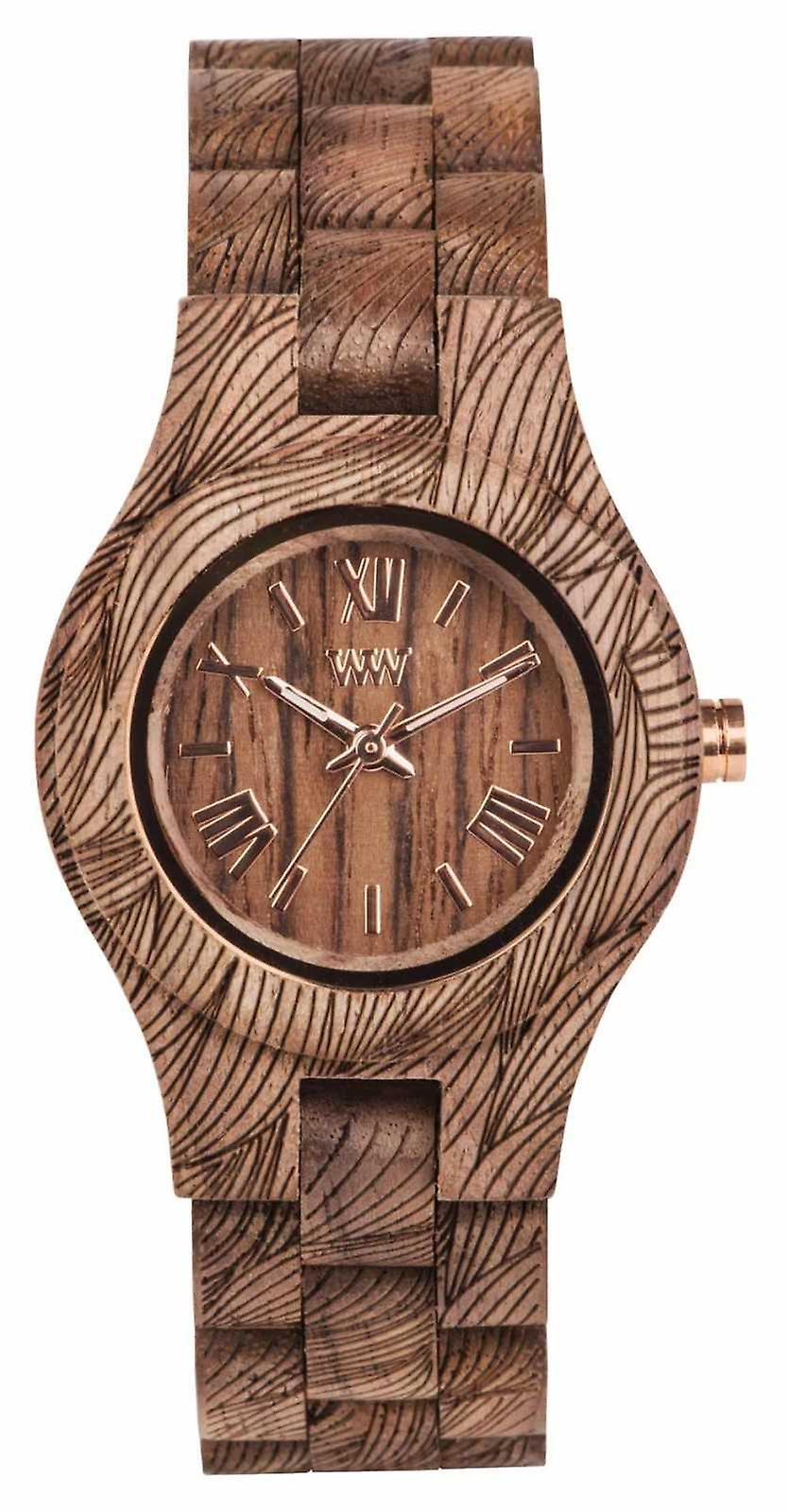 WeWood Criss Waves Nut Rough 70210713 Watch