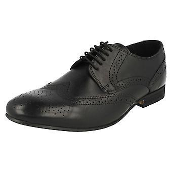 Mens Ikon Smart Lace Up Brogue Style Shoes Max
