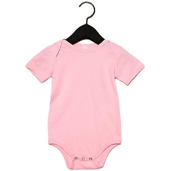 Bella + lærred Baby trøje kortærmet Onesie