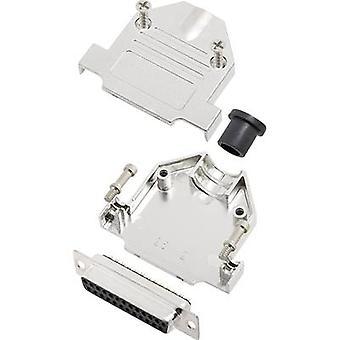 encitech DTNT25-M-DBS-K 6355-0070-23 D-SUB-astia sarja 180 ° nastojen luku määrä: 25 juotos ämpäri 1 sarja