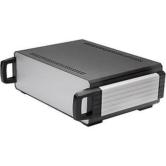 Axxatronic CDIC00007-CON Desktop case 400 x 300 x 130 Aluminium Anthracite 1 pc(s)