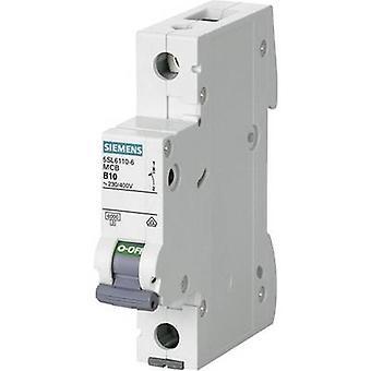 Siemens 5SL6110-7 disjoncteur 1 pôle 10 A 230 V, 400 V
