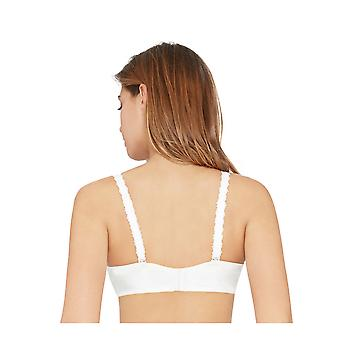 Bestform 25453-11 Women's Pampelune Ivory Solid Colour Lace Underwired T-Shirt Bra