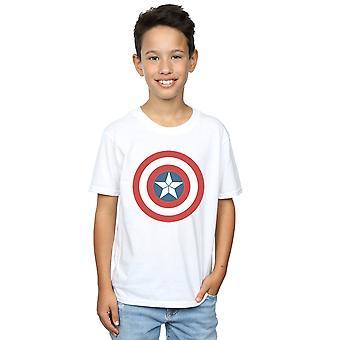 Meninos de Marvel Capitão América Guerra Civil escudo t-shirt
