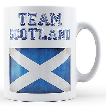 Equipo de Escocia - taza impresa