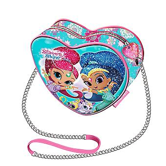 Shimmer and Shine sac à main coeur