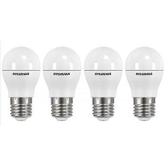 4 x Sylvania ToLEDo boule E27 Dimmable V3 5.6W 470lm Homelight LED [classe énergétique A +]