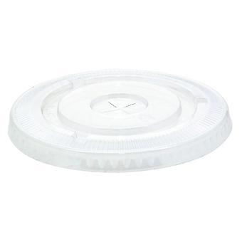 Van der Windt Plastic Lids with Hole 12oz