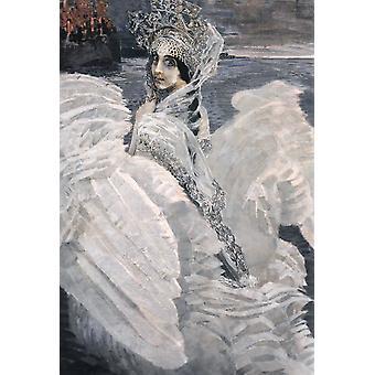 The Swan Princess,Mikhail Vrubel,60x40cm