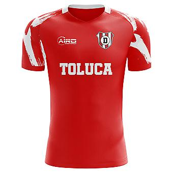 2020-2021 Deportivo Toluca Home Concept Football Shirt - Kids