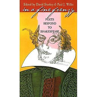 I en fin frenesi: poeter svara på Shakespeare