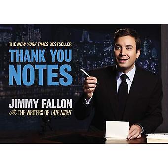 Notas de agradecimento