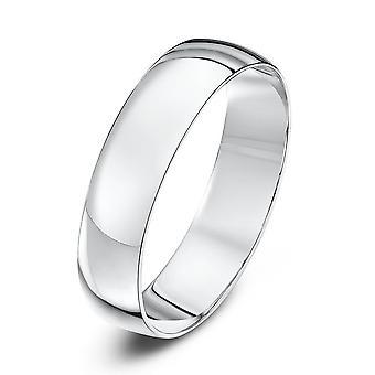 Star Wedding Rings Platinum Light D 5mm Wedding Ring