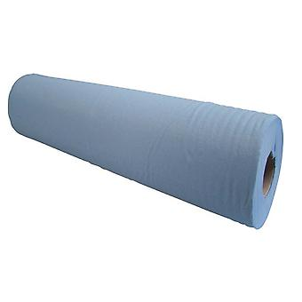 Simply Direct Blue 2 Ply Hygiene Roll/Wipe. 48cm Wide x 50m Long (19