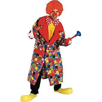 Circus Clown Adult Costume
