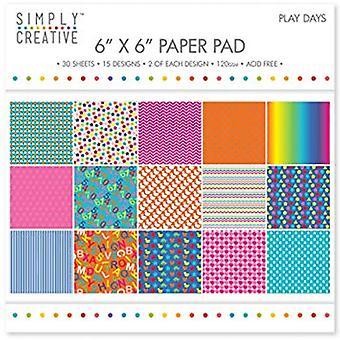 Simply Creative FSC Paper Pad 12x12 Inch Mankind