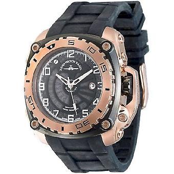 Zeno-watch mens watch mistery square automatic 4236-RBG-i1