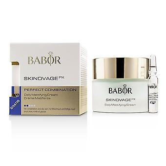 Babor Skinovage Px Perfect Combination Daily Mattifying Cream (with Free Collagen Booster Fluid 2ml) - For Combination & Oily Skin - 50ml/1.7oz
