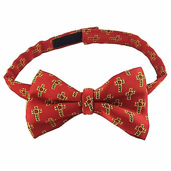 Masonische 100% Seide Rose Croix Degree Bow Tie Red