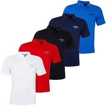Callaway Mens 2020 Tournament Golf Polo Shirt
