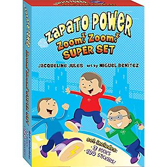 Zapato Power Boxed Set #1-3 by Jacqueline Jules - 9780807599921 Book