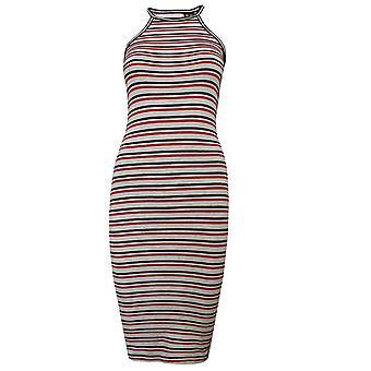 Superdry tiana women's multi coloured stripe dress
