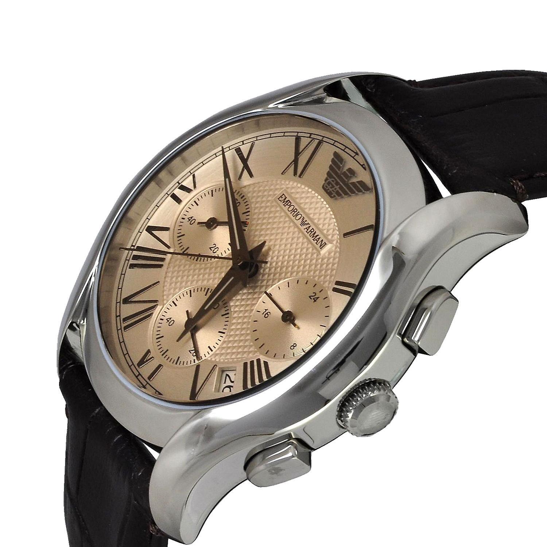 Emporio Armani Ar1790 Classic Chronograph Leather Women's Watch