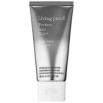 Living Proof Perfect Hair Day Triple Detox Shampoo 2oz / 60ml