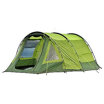 OLPRO Abberley tienda XL 4 litera verde 2 puertas 3 Vent Windows impermeable Camping