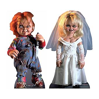 Chucky et Tiffany Official Cardboard Cutout / Standee Set of 2